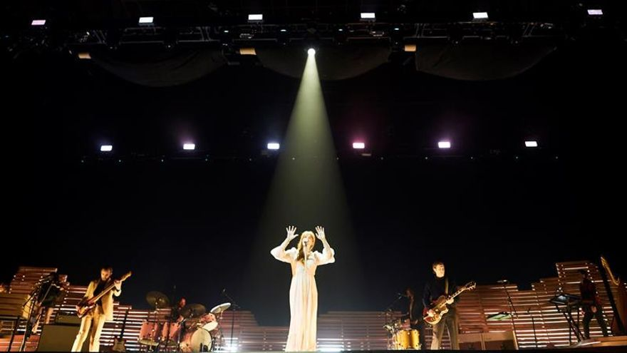 Florence and The Machine exorciza fantasmas en Barcelona con sus 'pop' elevado