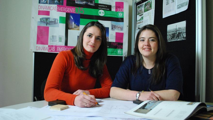 Rosario Carmona y Carmen Cañones.