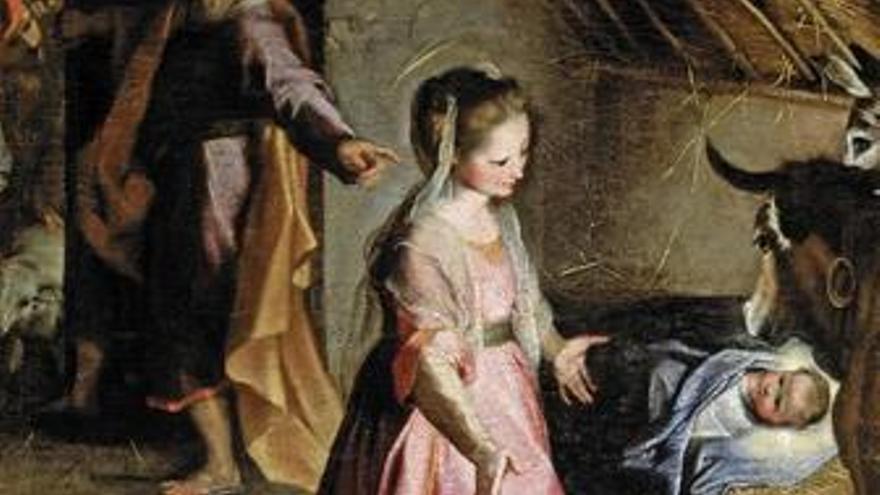 La Natividad de Federico Barocci