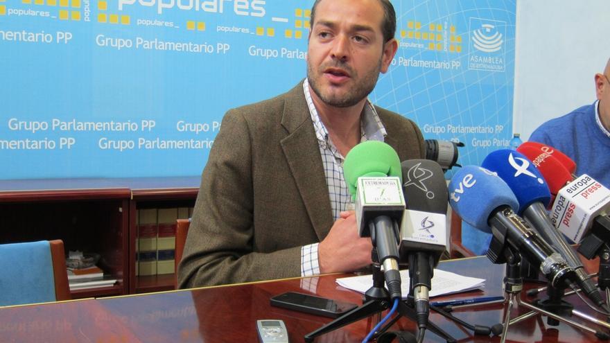 """El PP de Extremadura reclama que """"todos"""" los partidos aborden la publicación de los gastos de diputados y senadores"""