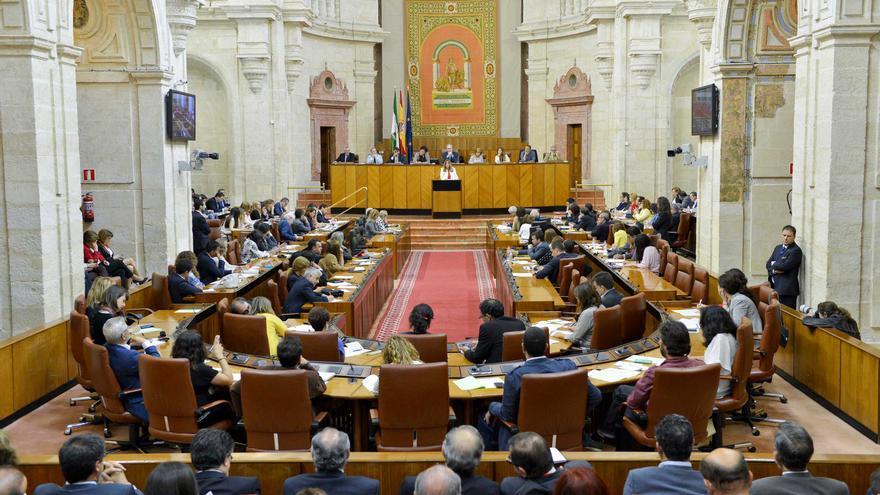 Pleno del Parlamento Andaluz