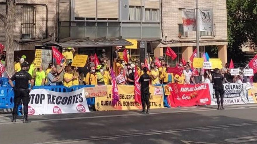 Desarrollo Sostenible anuncia medidas de estabilización laboral para más de 400 trabajadores de Geacam cuando se inicia un nuevo ciclo de huelgas