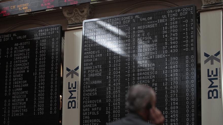 El Ibex remonta un 0,6% a media sesión pese a la caída del 2,34% protagonizada por Gas Natural