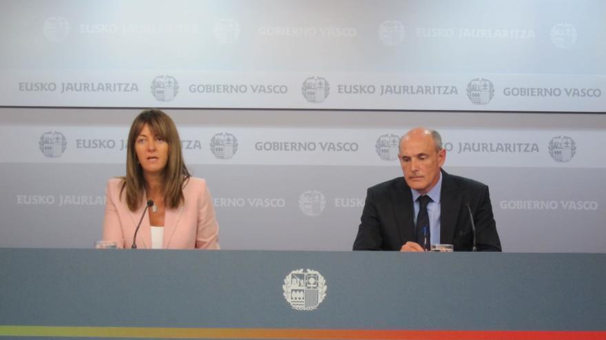 """El Gobierno vasco desea """"toda la suerte del mundo"""" a Esperanza Aguirre"""