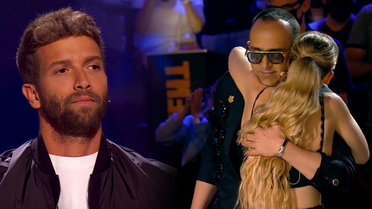 Pablo Alborán en 'La Voz' / Risto y Edurne se abrazan en 'Got Talent'