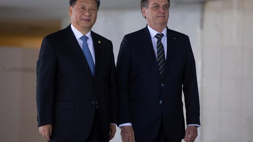 Bolsonaro y Xi Jinping reafirman lazos entre Brasil y China tras polémica