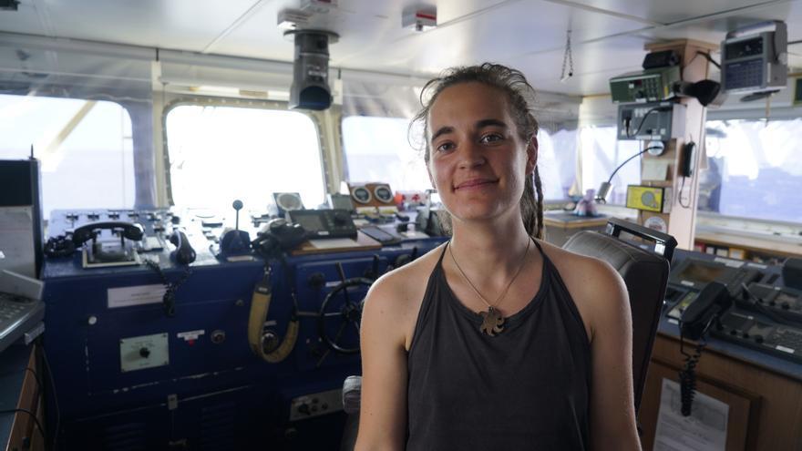 Carola Rackete, capitana del buque de rescate Sea Watch 3.