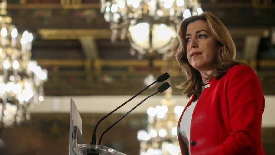 """Susana Díaz defiende """"no endurecer las condiciones de inversión sino apostar para que sea más rentable socialmente"""""""