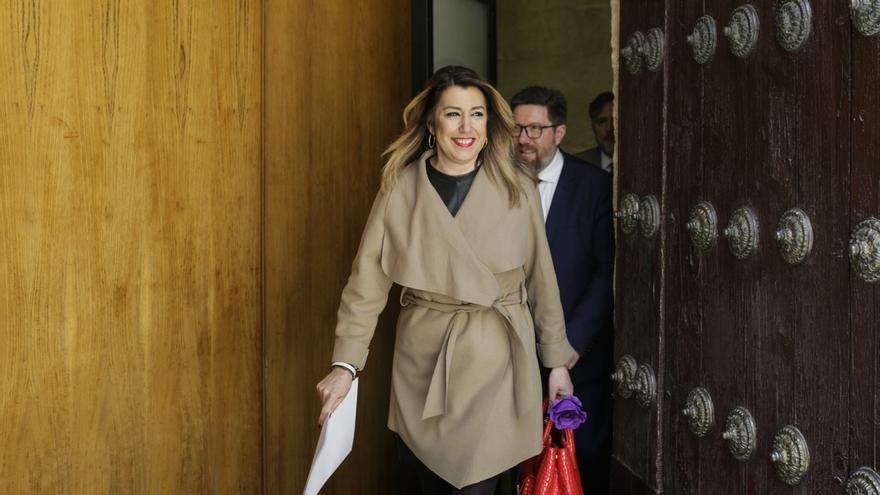 La expresidenta Susana Díaz en una imagen de archivo.