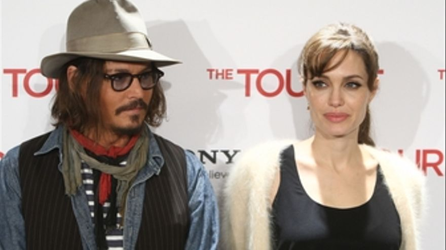 Angelina Jolie y Johnny Depp