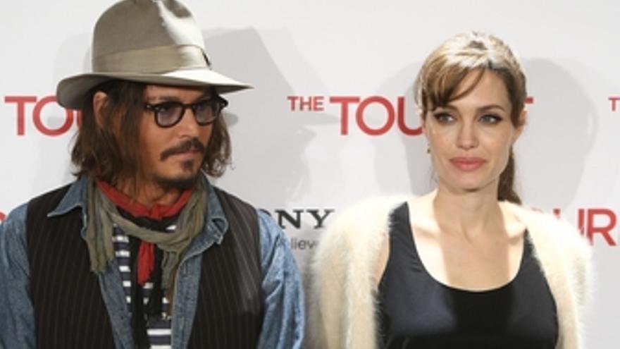Angelina Jolie y Johnny Depp