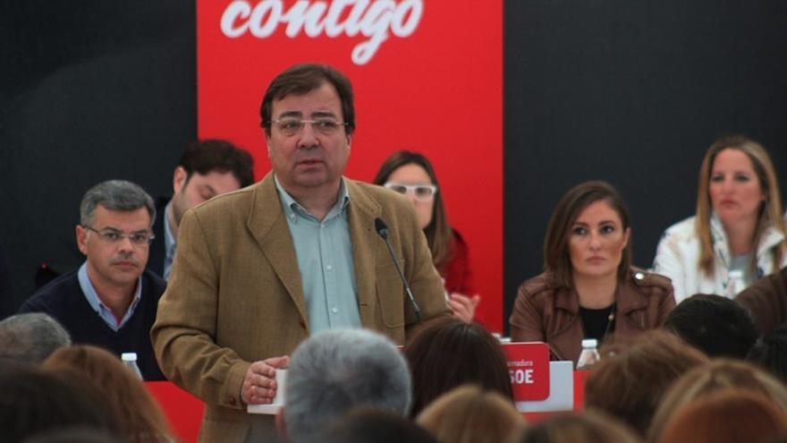Fernández Vara, en el comité del PSOE extremeño / PSOE
