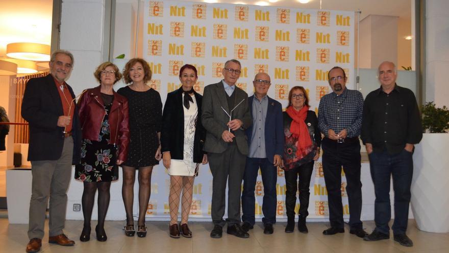 Guardonats als premis d'Escola Valenciana de 2017.