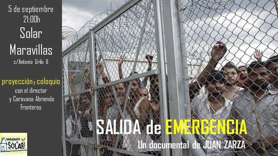 Cine de verano en el Solar Maravillas: Salida de emergencia
