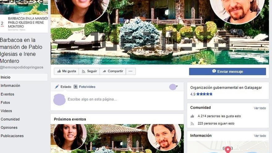 """Galapagar traslada a la Guardia Civil convocatorias en Facebook en el chalet de Iglesias ante """"posibles aglomeraciones"""""""