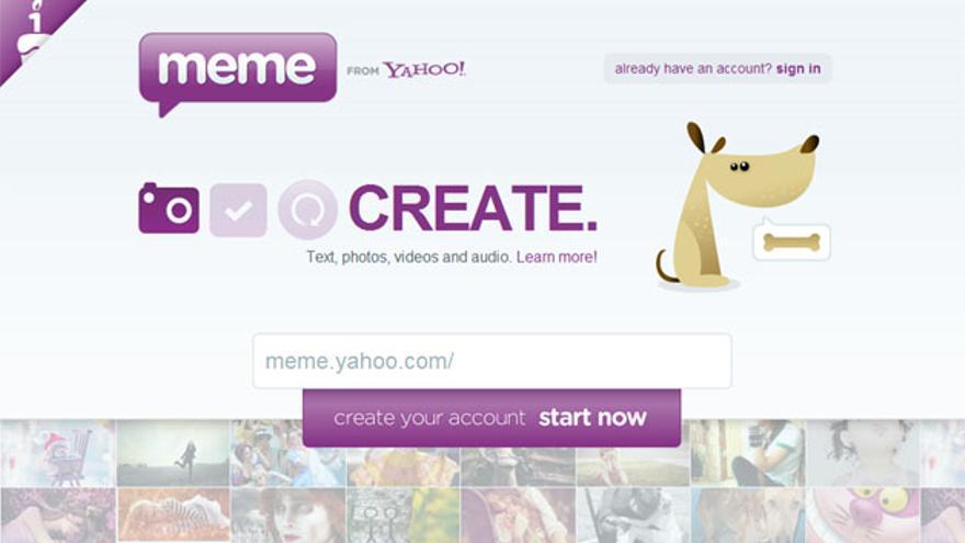 Yahoo Meme nació como una red social en portugués que se expandió en pocos meses a otros idiomas