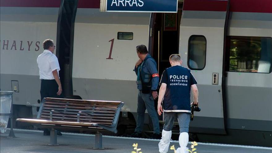 Detienen a un hombre que disparó en un tren Thalys e hirió a tres personas