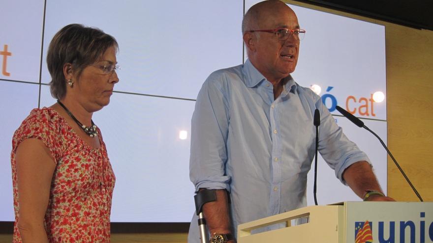 """Duran dice que UDC irá a la Diada a defender el pacto fiscal y no la independencia por """"coherencia"""""""