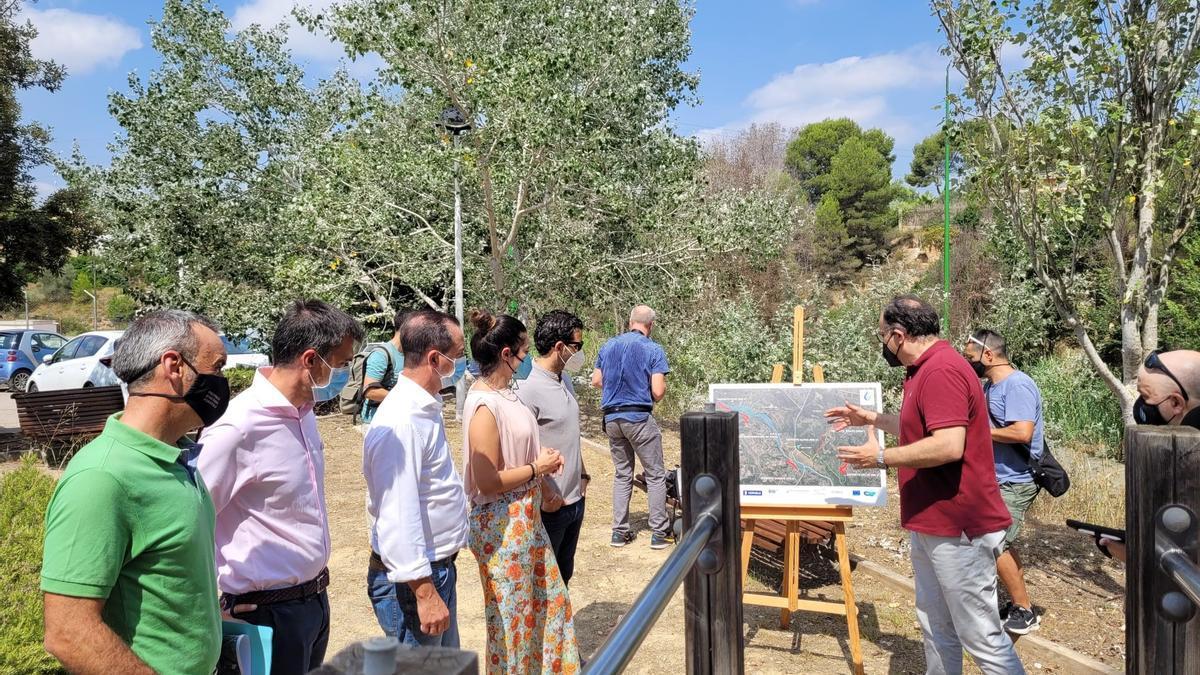 visita de la Consellera, Mireia Mollà, al proyecto GUARDIAN.