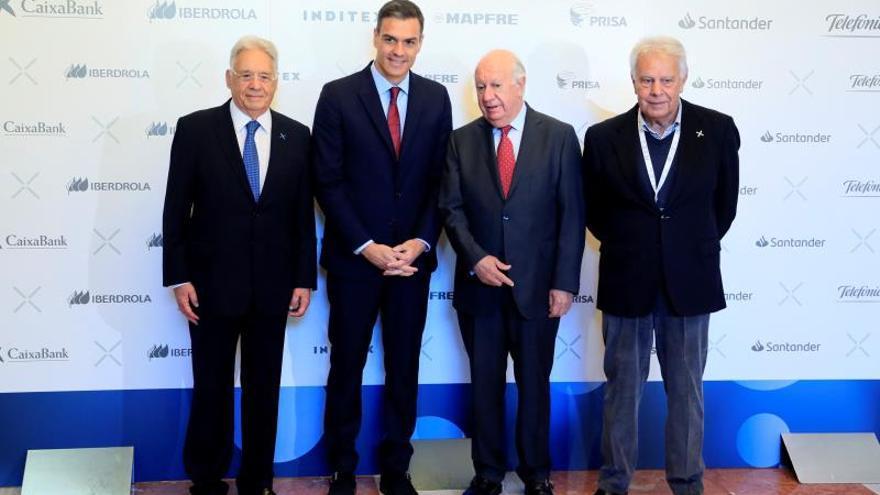 Sánchez apela al reparto de la prosperidad para luchar contra los autoritarismos