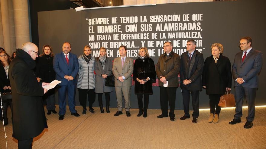 Acto de clausura de la exposición 'La Poética de la Libertad' en la Catedral de Cuenca