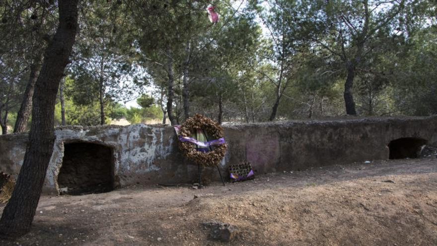 Imagen del 'Paredón de España' de Paterna