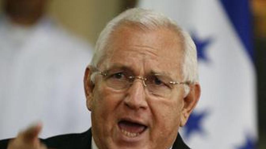 Presidente interino de Honduras, Micheletti