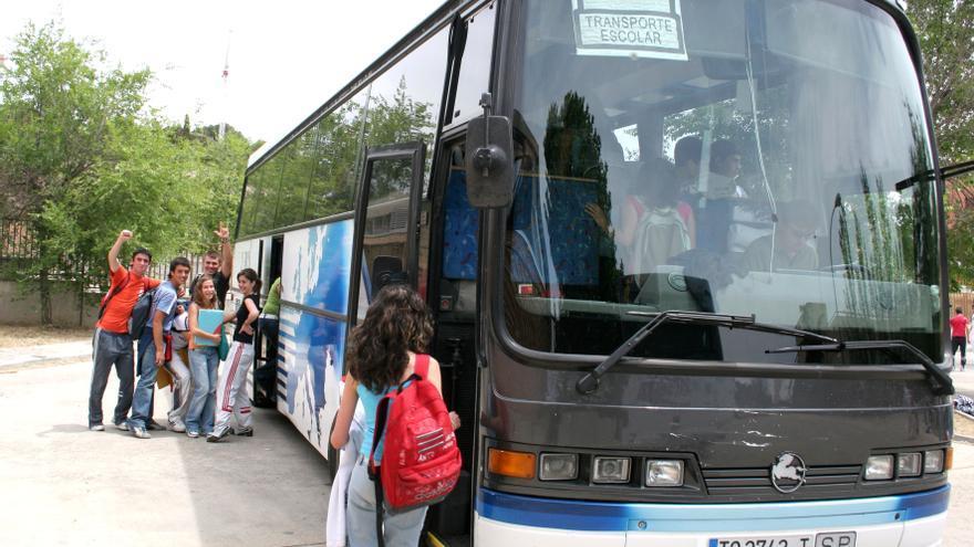 Transporte escolar en Castilla-La Mancha