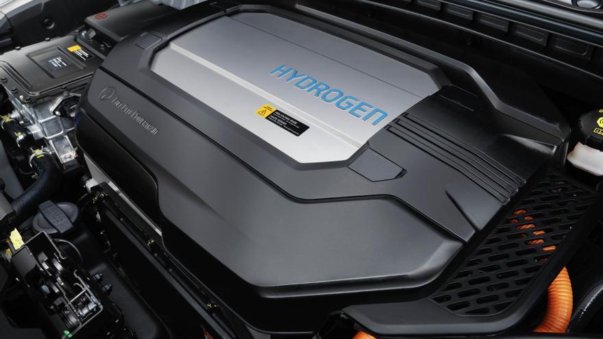 Nexo, el modelo de hidrógeno de Hyundai.