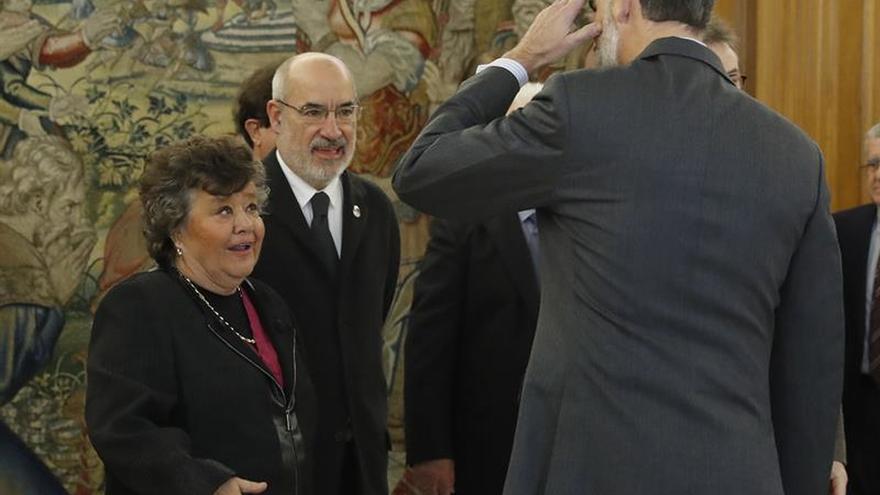 El Rey recibe a la Fundación de Abogados de Atocha en el 40 aniversario del atentado