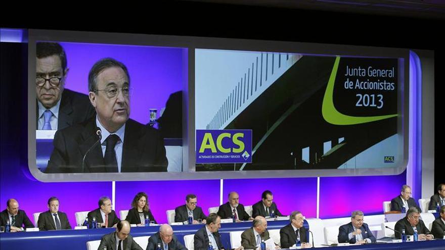 ACS prevé que la economía española mejore en 2013 y se recupere en 2014