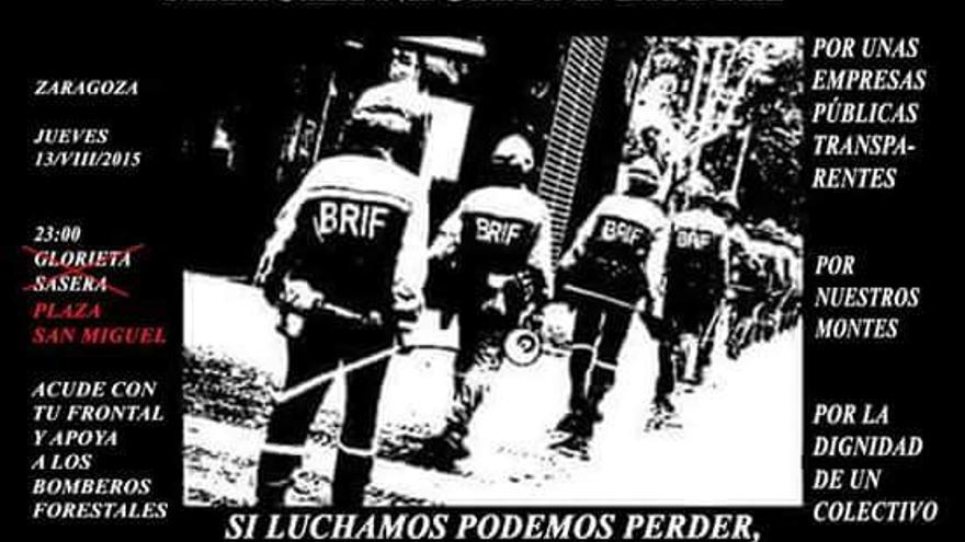 Cartel de la Marcha Negra