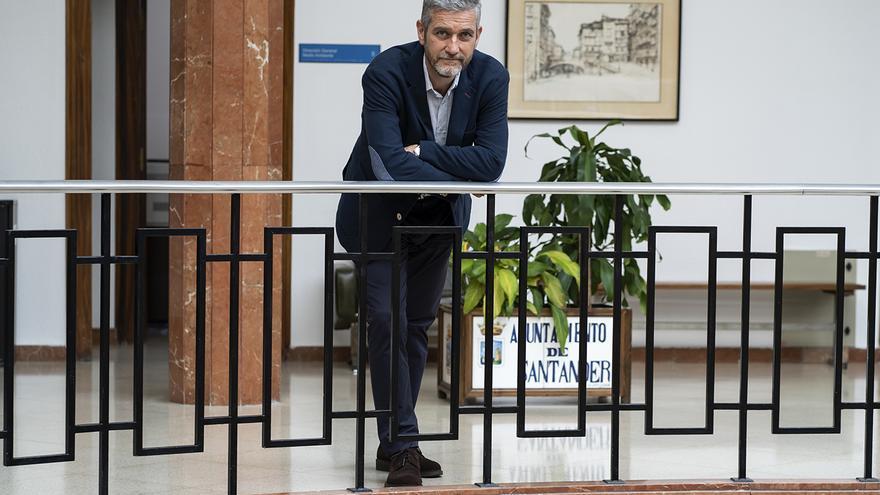 Javier Ceruti, portavoz de Ciudadanos y del equipo de gobierno en Santander. | JOAQUÍN G. SASTRE