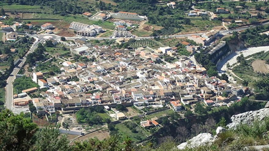 La localidad alicantina de Benigemblà