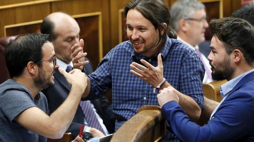 Unidos Podemos aborda su labor en el nuevo curso marcado por Cataluña
