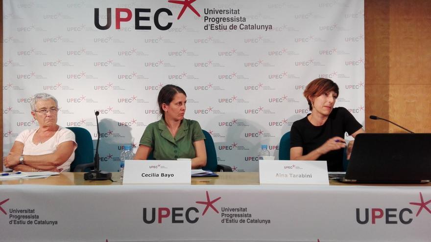 Imagen de una de las ponencias presentadas en la UPEC