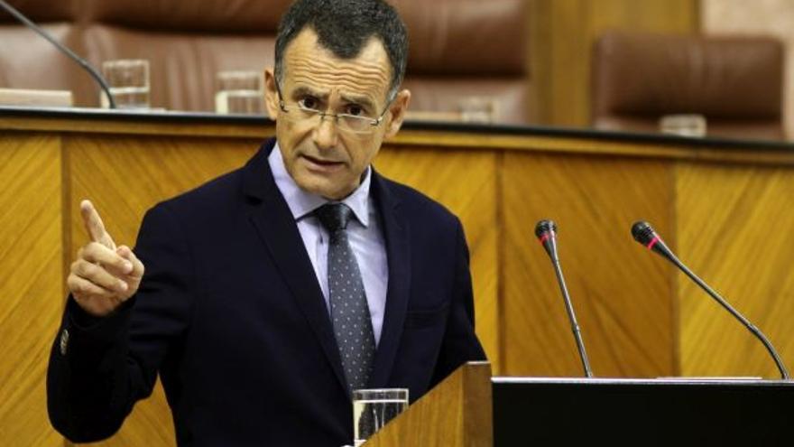 Pablo Venzal, diputado andaluz del PP y portavoz parlamentario de Hacienda.