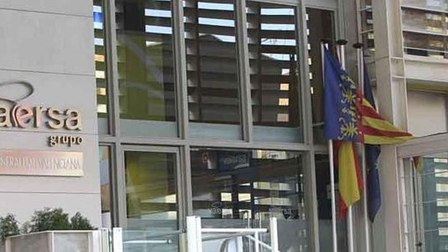 La sede de Vaersa en Valencia