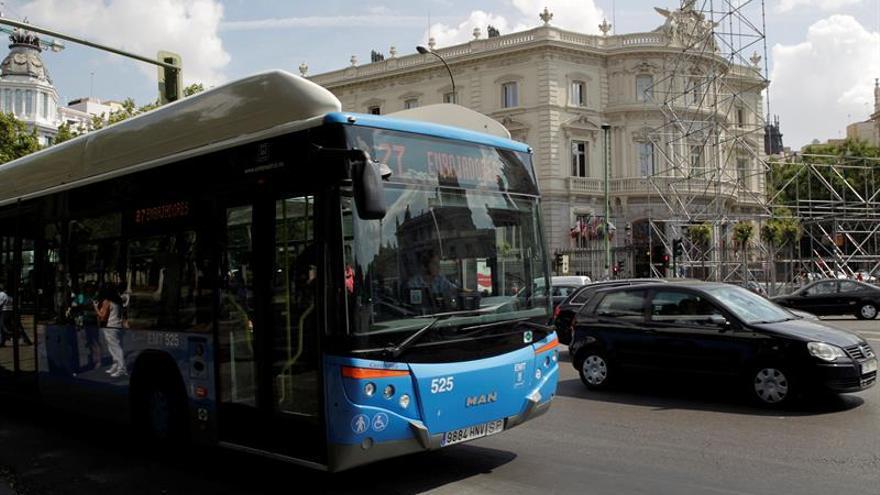 La Policía busca a un cuarto agresor del conductor de autobús de Madrid