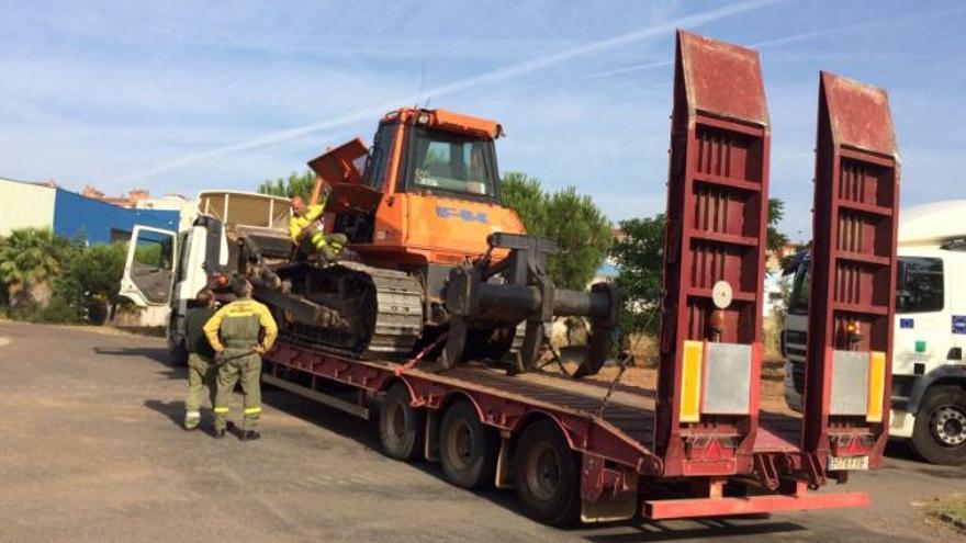 Infoex Extremadura ayuda Portugal incendios