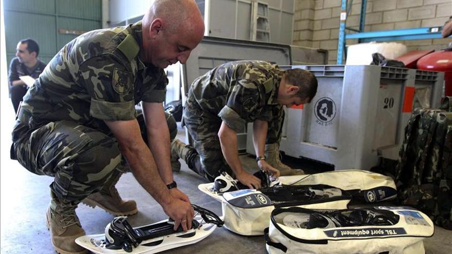 El Ejército español, 25 años de compromiso con la investigación en la Antártida