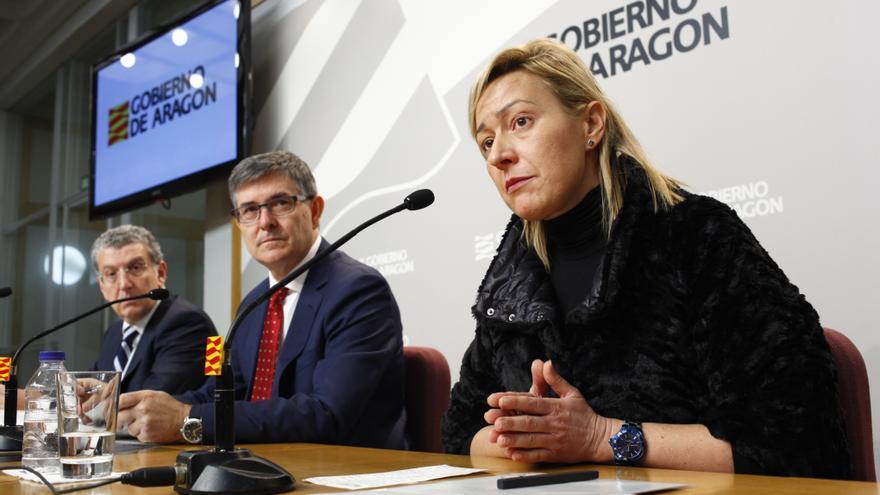 La consejera de Economía, Industria y Empleo del Gobierno de Aragón, Marta Gastón