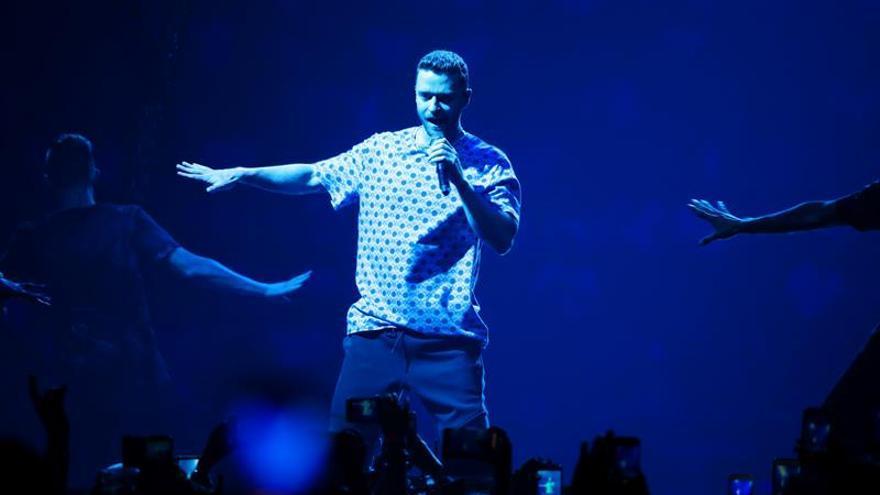 El cantante estadounidense Justin Timberlake.