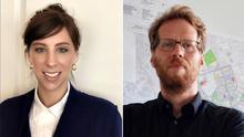 Lucy Joffe y Florian Schmidt, representantes de los ayuntamientos de Nueva York y Berlín, respectivamente