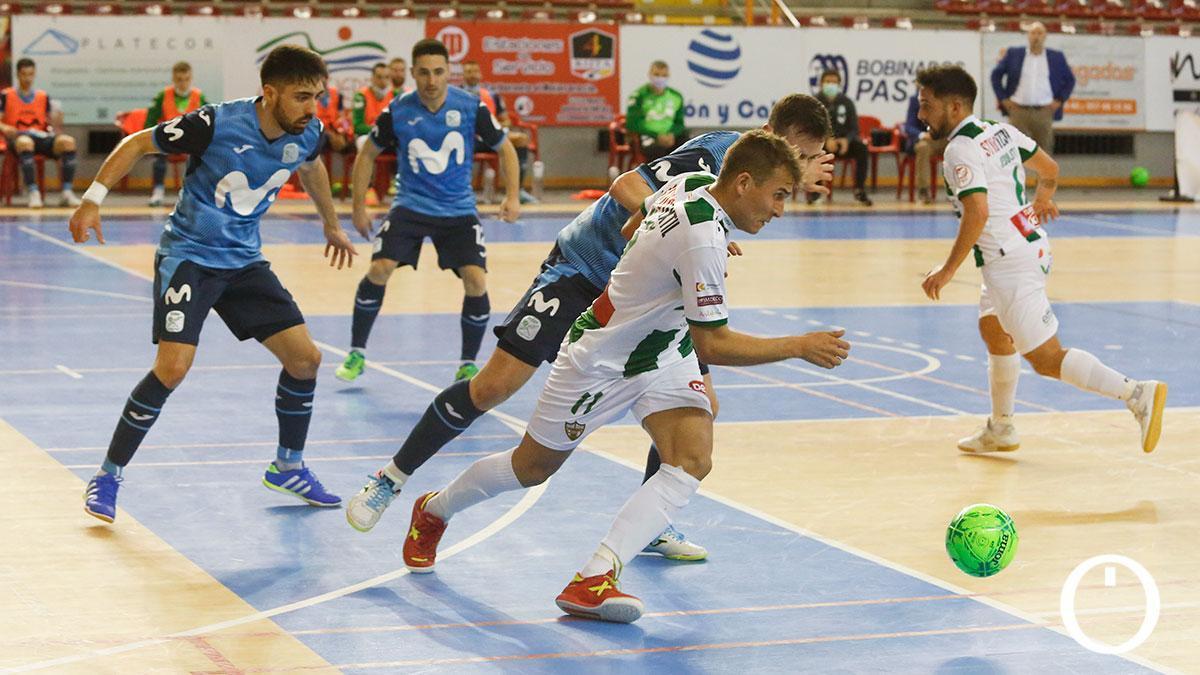 Koseky, en el duelo con el Movistar Inter.