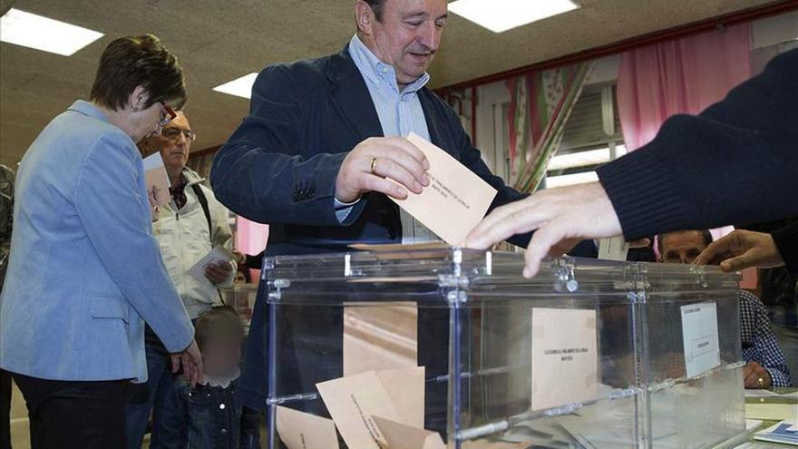 El PP se queda a dos escaños de la mayoría absoluta en La Rioja