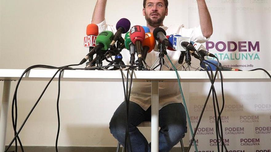 Fachin acusa a Iglesias de actuar como Rajoy con el 155 y rechaza la intervención