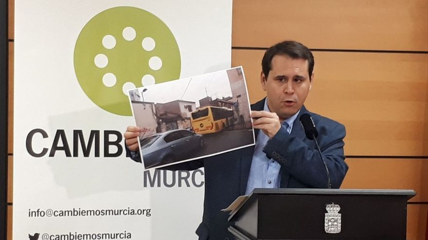 Sergio Ramos, candidato a la alcaldía por Cambiemos Murcia