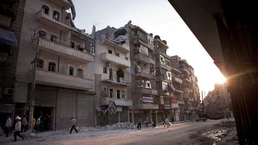 Un bombardeo causa daños irreparables en el mayor hospital del este de Alepo
