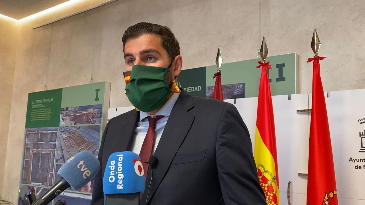 José Ángel Antelo, portavoz y presidente regional de Vox